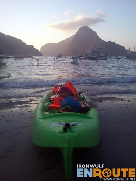Mission accomplished, kayaking Cadlao Island