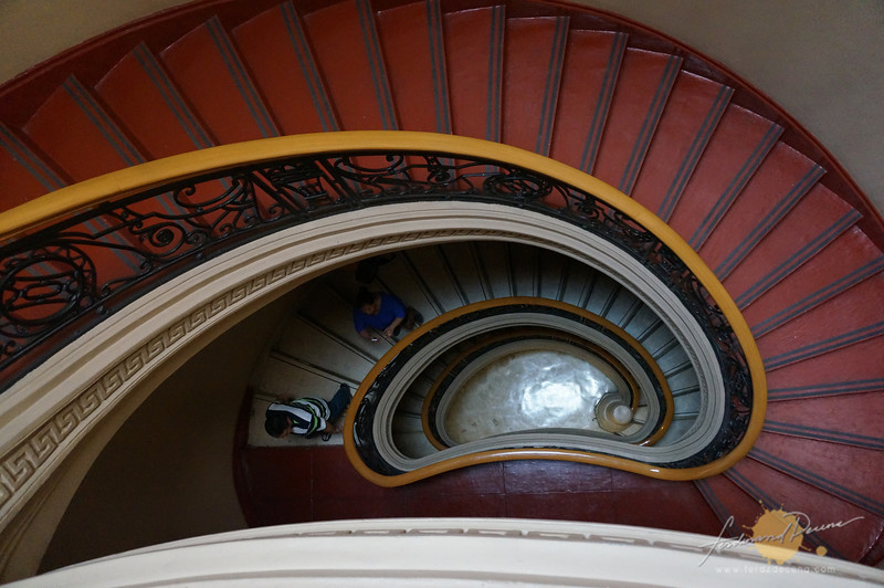 National Museum staircase