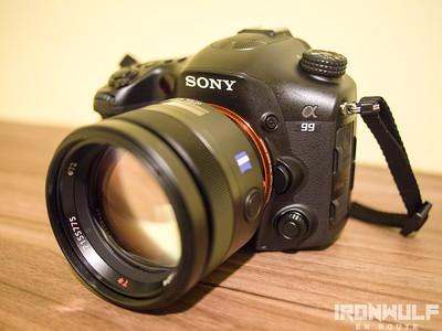 The Sony Alpha A99