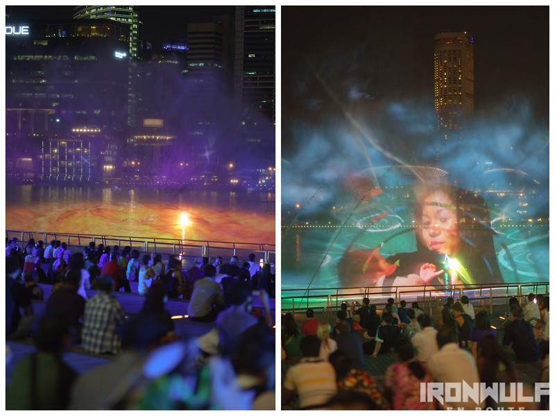 One of a kind multi-sensory outdoor show for free