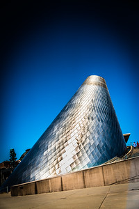 The outside of the Tacoma Glass Museum Hot Room