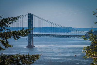 The Tacoma Narrows Bridge - Tacoma, Washington