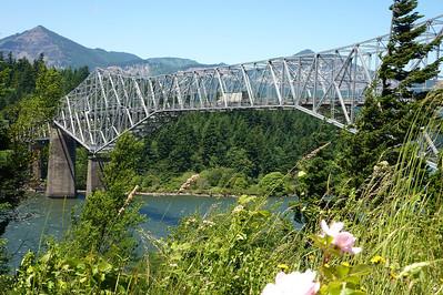 The Bridge of the Gods, Oregon-Washington June 2013