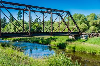 Abandoned Railroad Bridge near Colfax, WA