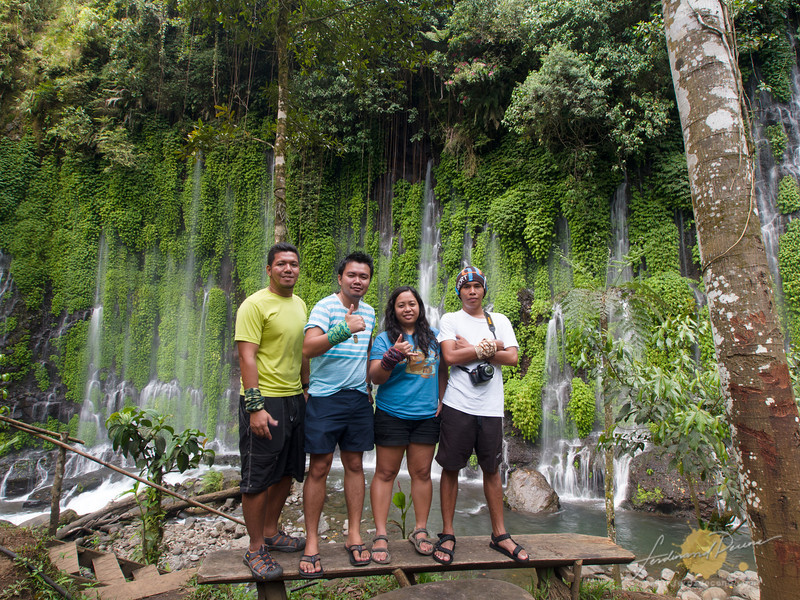 4 remained from the team to explore Asik-asik Falls in North Cotabato