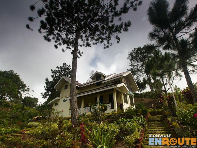 The DDD Habitat Bukidnon on a hill