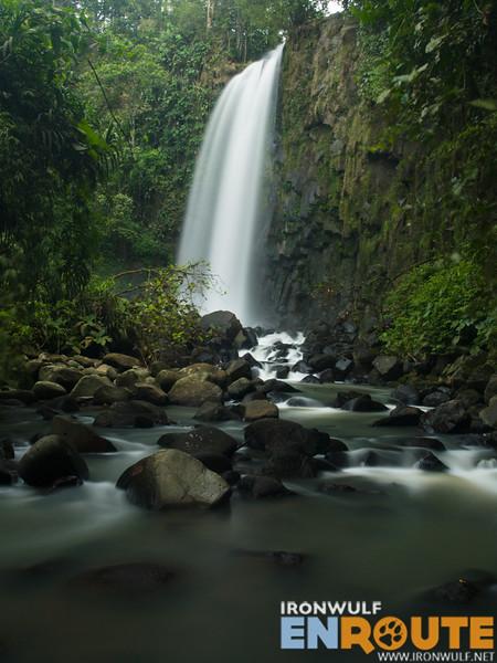 The stunning Dila Falls