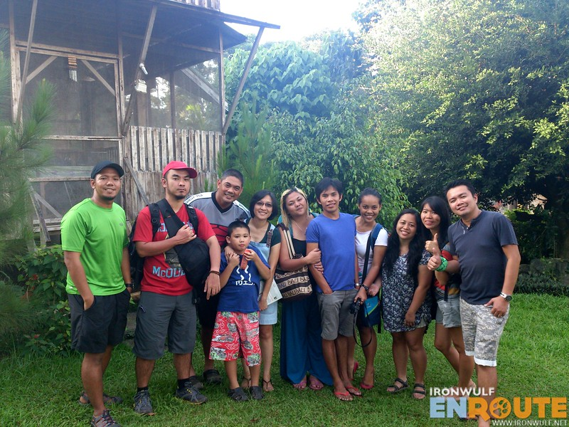 The travel mindanao group with the Roque family