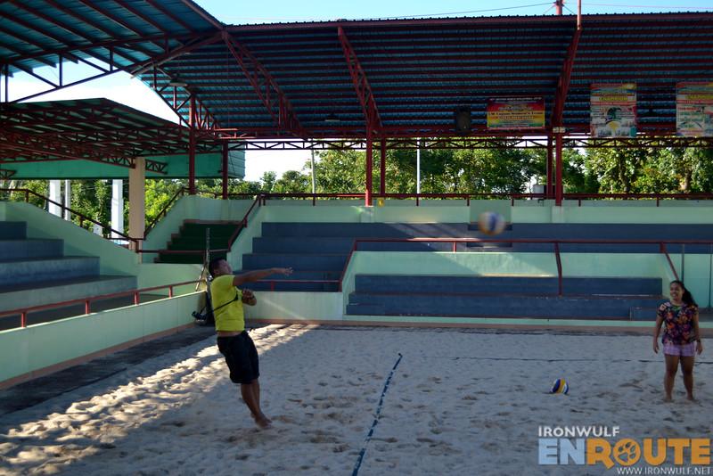 Beach volleyball in Tagum