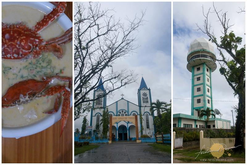 Mutya ng Bislig, Hinatuan San Agustin church and Doppler Radar Station