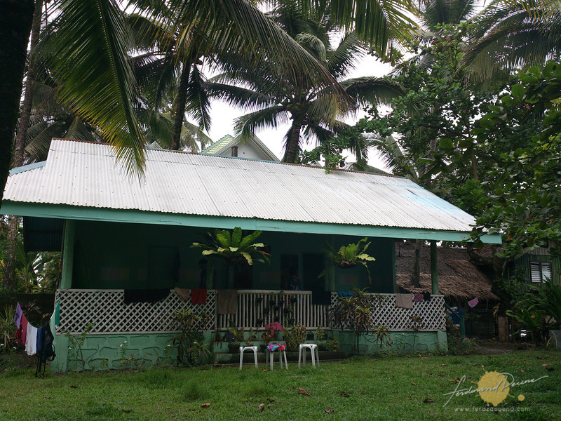 The Cathe Pacific cottage