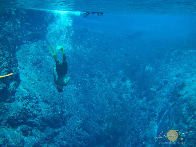 Exploring the depths of the Enchanted River