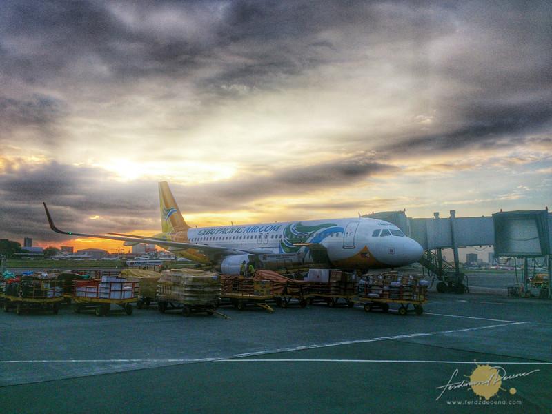 Cebu Pacific Air flew me to Mindanao
