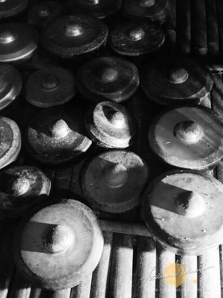 Gongs at Rungus House
