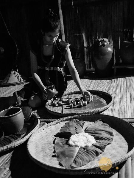 On making Tapai (rice wine)