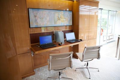 Viking Skadi Interiors, Computer Area