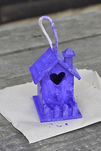 Birdhouse for Mother's Day