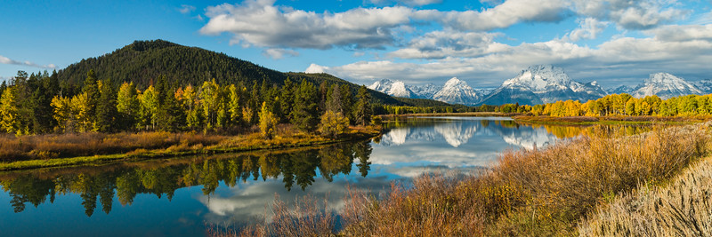 Oxbow Bend in the Grand Tetons