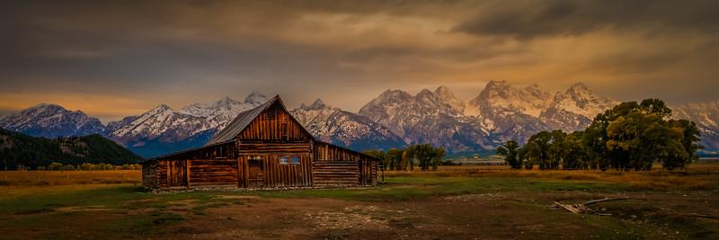 Moulton Barn at Dawn