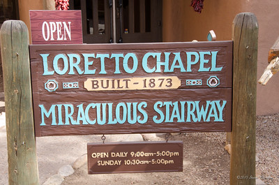 2013/03/04 Loretto Chapel, Santa Fe, NM