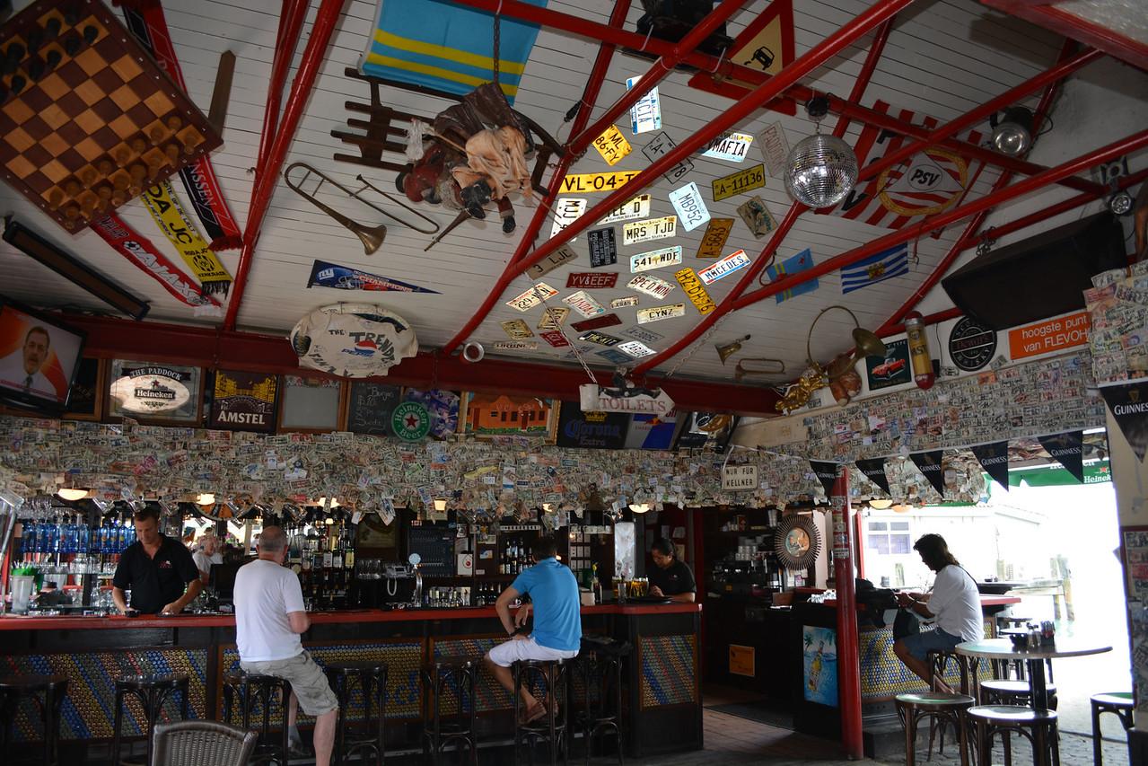 ...typical island bar decor.