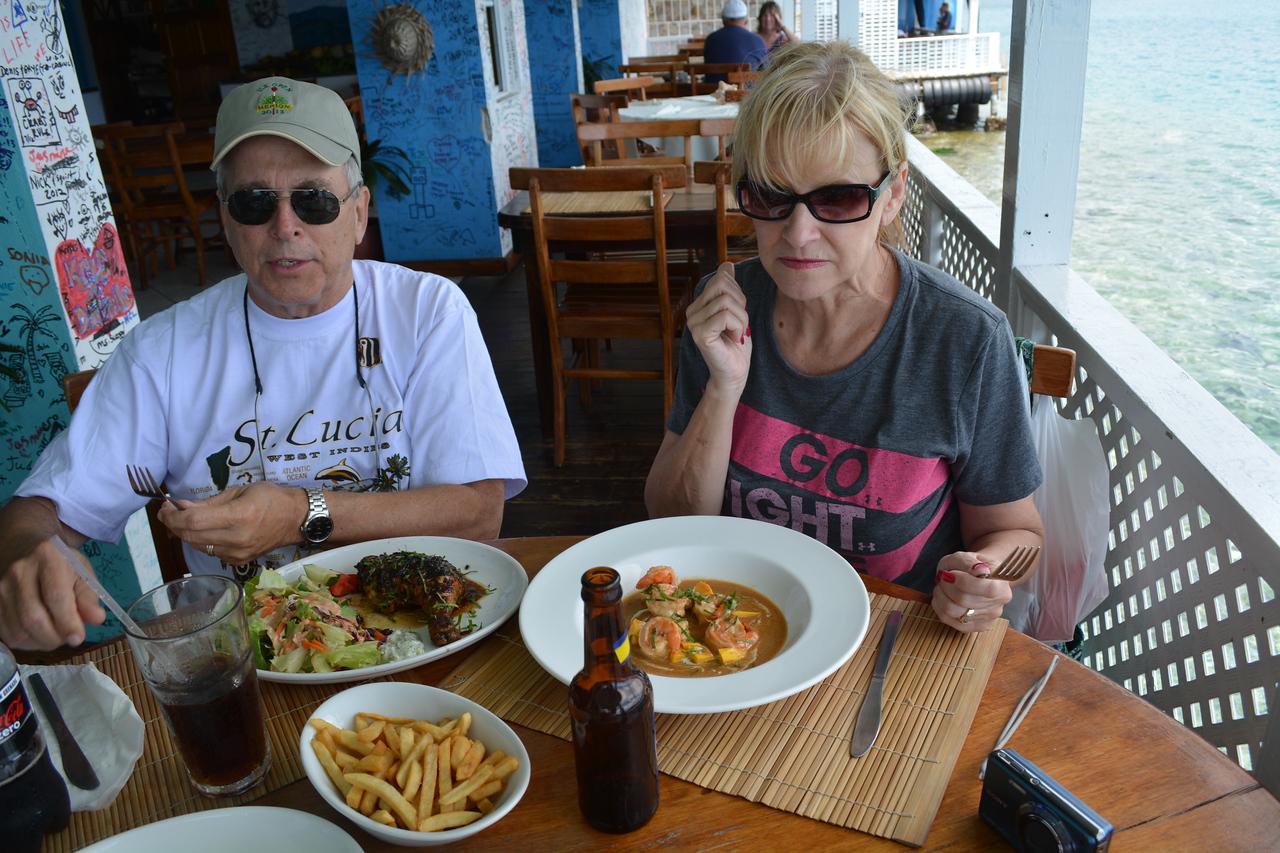 Jerk Chicken and Creole Shrimp