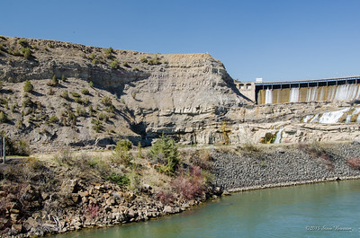 Ryan Dam, Missouri River, Great Falls, MT