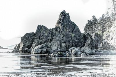Ruby Beach Rock