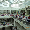 Bunting in Pentagon City Shopping Center