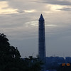 Washington Monument - with repair scaffolding
