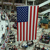 Flag in Pentagon City Shopping Center