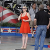 Sound check by Megan Hilty for Capital Fourth