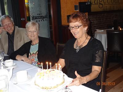 Vadis & Birthday cake