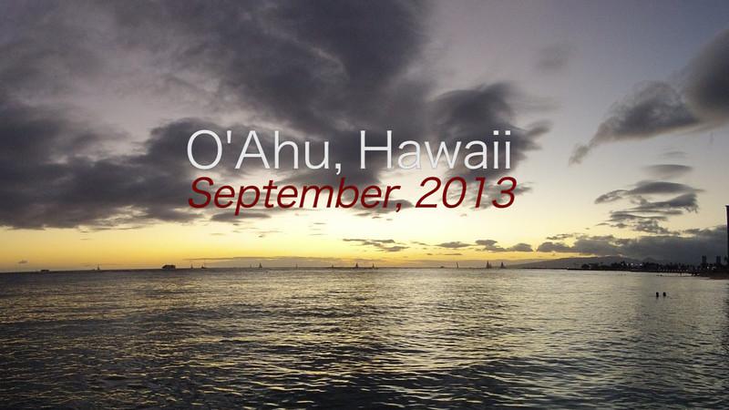O'Ahu Timelapse