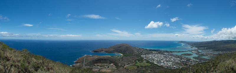 View from top of Koko Head