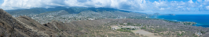 Crater view of Diamond Head