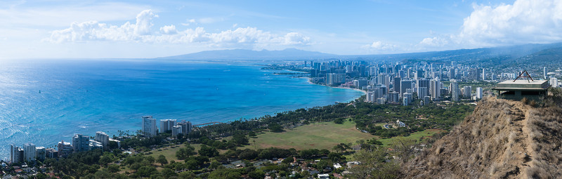 Waikiki view of Diamond Head