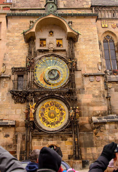The Prague astronomical clock is a medieval astronomical clock located in Prague,  The clock was first installed in 1410, making it the third-oldest astronomical clock in the world and the oldest one still working.