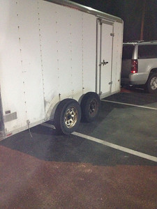 This was day 1 Bad day. Flat tire before I left home & lost a fender.in WV
