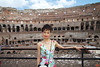 Rosa in the Colosseum.<br /> IMG_2932