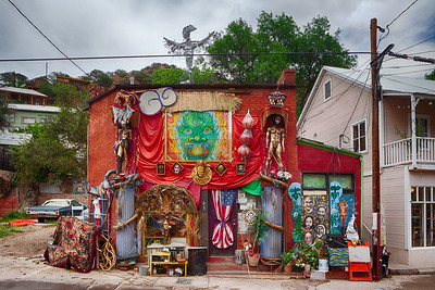 Bisbee, Arizona, may be the place old hippies go to die.