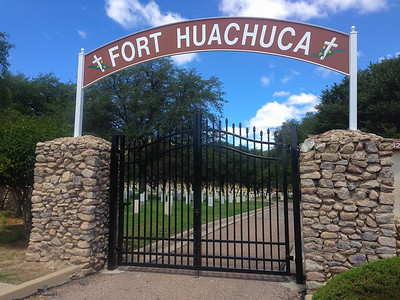 """Fort Huachuca, Arizona, is where we sent the Black Men (the """"Buffalo Soldiers"""") to fight the Red Men (the """"Indians"""")."""