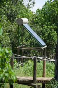 Very efficient solar water heaters.