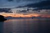 Sunrise in Sullivan Bay.  Santiago Island.  Day 4 begins.