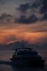 Sunrise in Sullivan Bay.  Santiago Island.