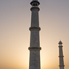 Minarets at sunrise.