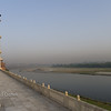 Yamuna River, looking north-west.