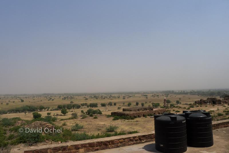 View toward north.