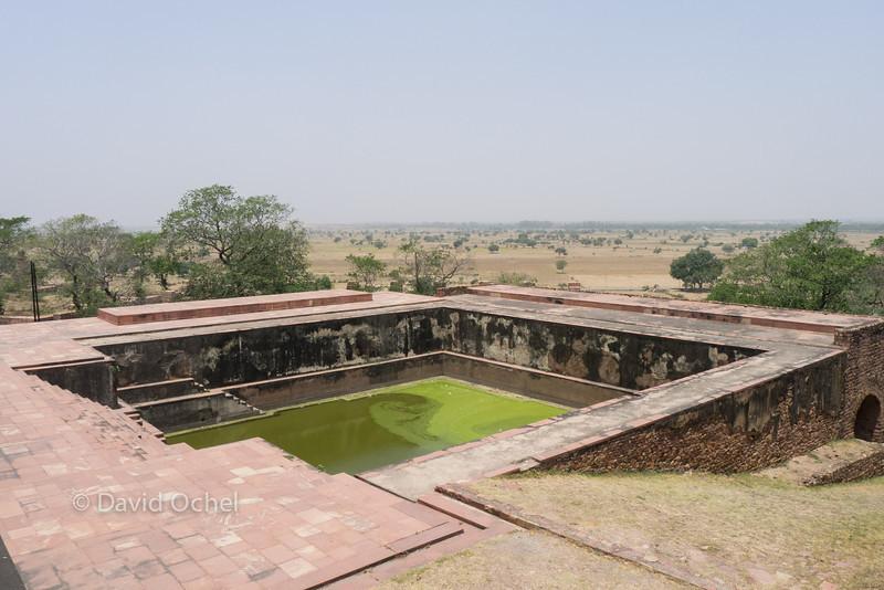 Water reservoir.