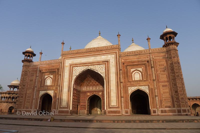 The jawab, the mosque's symmetrical counterpart on the east side.